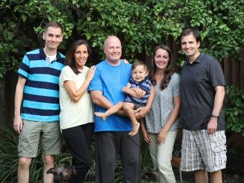 Our Family... Derek, Me, Dale, Paul, Jamie, Jason