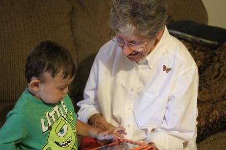 Paul and Grandma GG (2)
