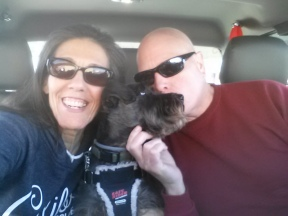 Dale, JoJo and I - New York here we come!