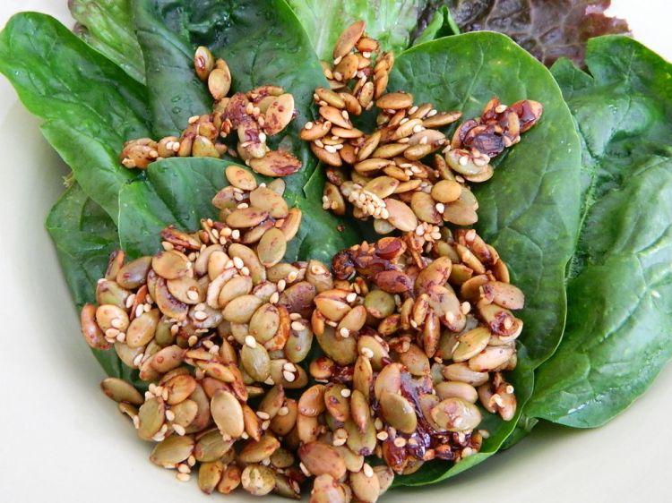 Roasted Pumpkin Seeds (4)